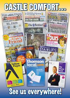 stair lifts companies in the paper