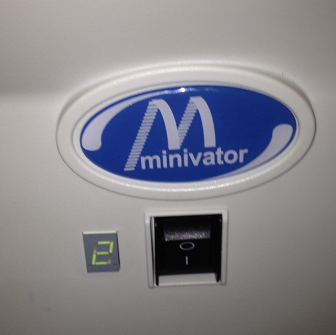 minivator warning light